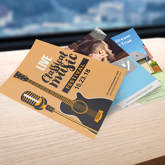 Online printing services business cards postcards more flyers flyers business cards reheart Images
