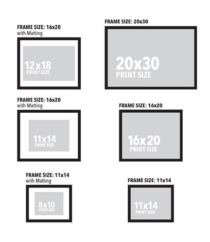 12x18 Poster Size Comparison