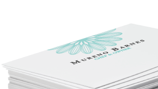 Custom business card design printing at gotprint durable stock with matte finish on the surface colors appear soft and slightly muted giving this stock an elegant appearance colourmoves