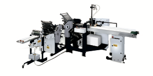 Heidelberg SSP82 Scoring<br />Folding Machine