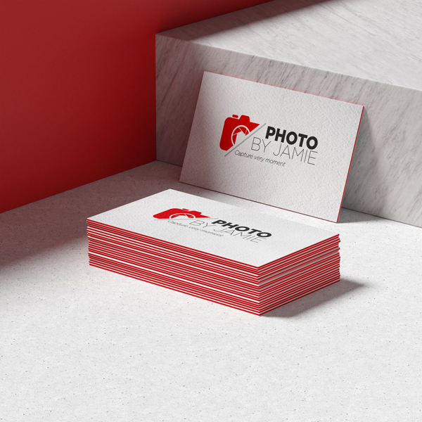 Trifecta Red Triple layer Business cards
