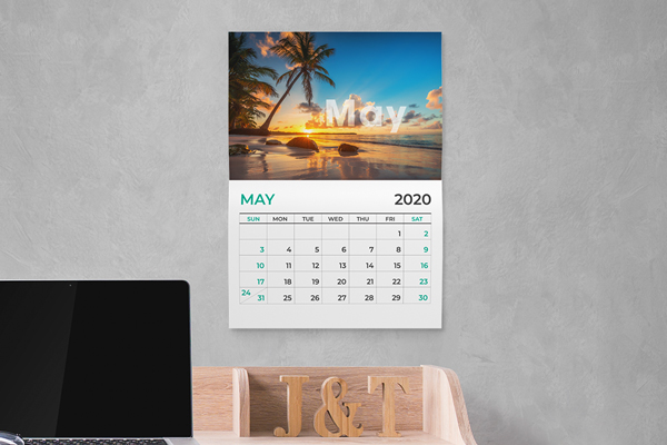 14 pt. Uncoated <br />Calendars