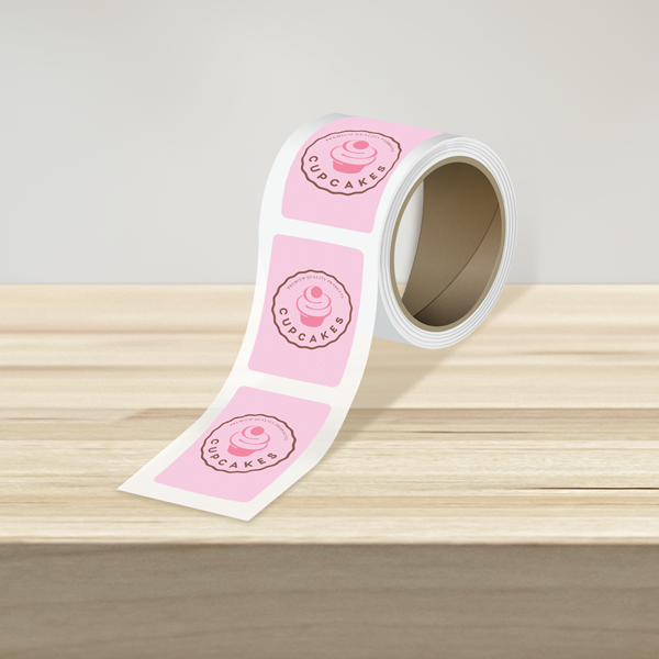 Rounded Rectangle Roll Labels
