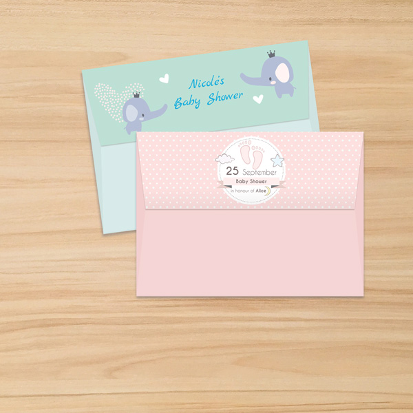 A-7 Invitation Envelopes