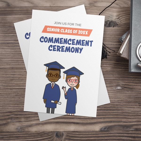 Cartoon Commencement