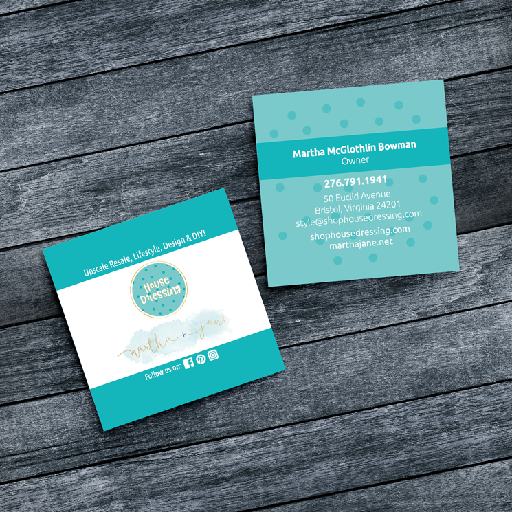Special Shapes Business Cards
