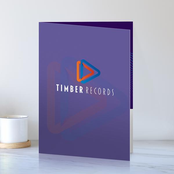 Custom Presentation Folders Folder